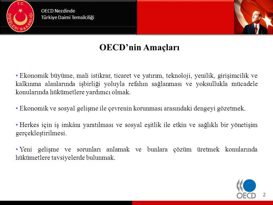 OECD Nezdinde Türkiye Daimi Temsilciliği. OECD ne yapar