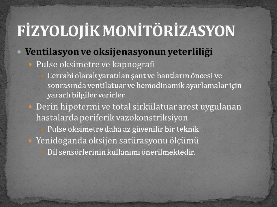 FİZYOLOJİK MONİTÖRİZASYON