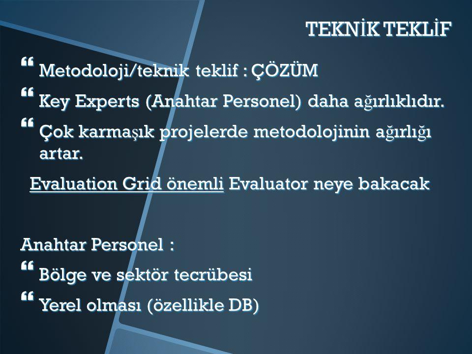 TEKNİK TEKLİF Metodoloji/teknik teklif : ÇÖZÜM