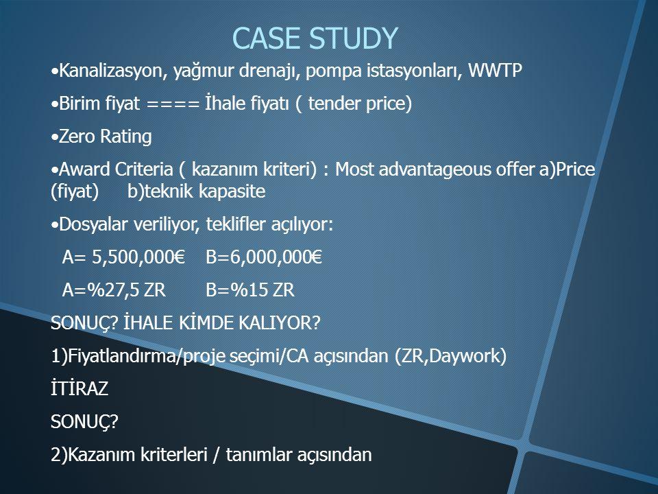 CASE STUDY Kanalizasyon, yağmur drenajı, pompa istasyonları, WWTP