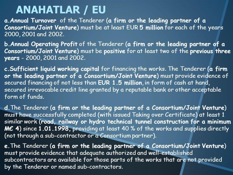 ANAHATLAR / EU