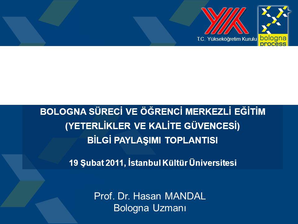 Prof. Dr. Hasan MANDAL Bologna Uzmanı