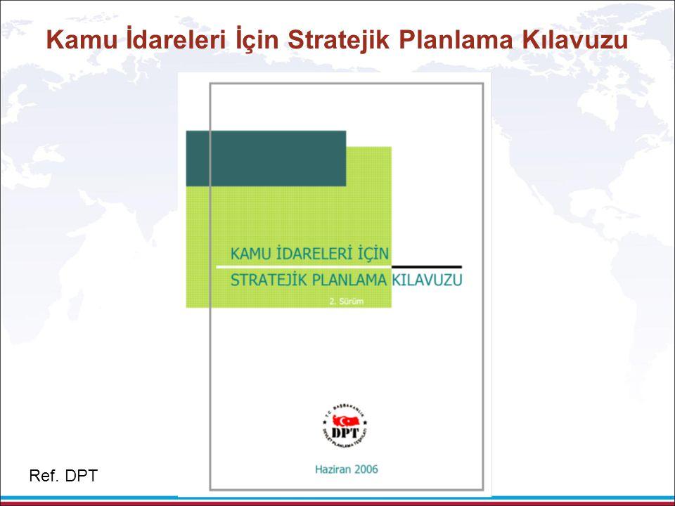Kamu İdareleri İçin Stratejik Planlama Kılavuzu