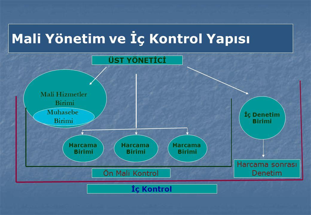 Mali Yönetim ve İç Kontrol Yapısı