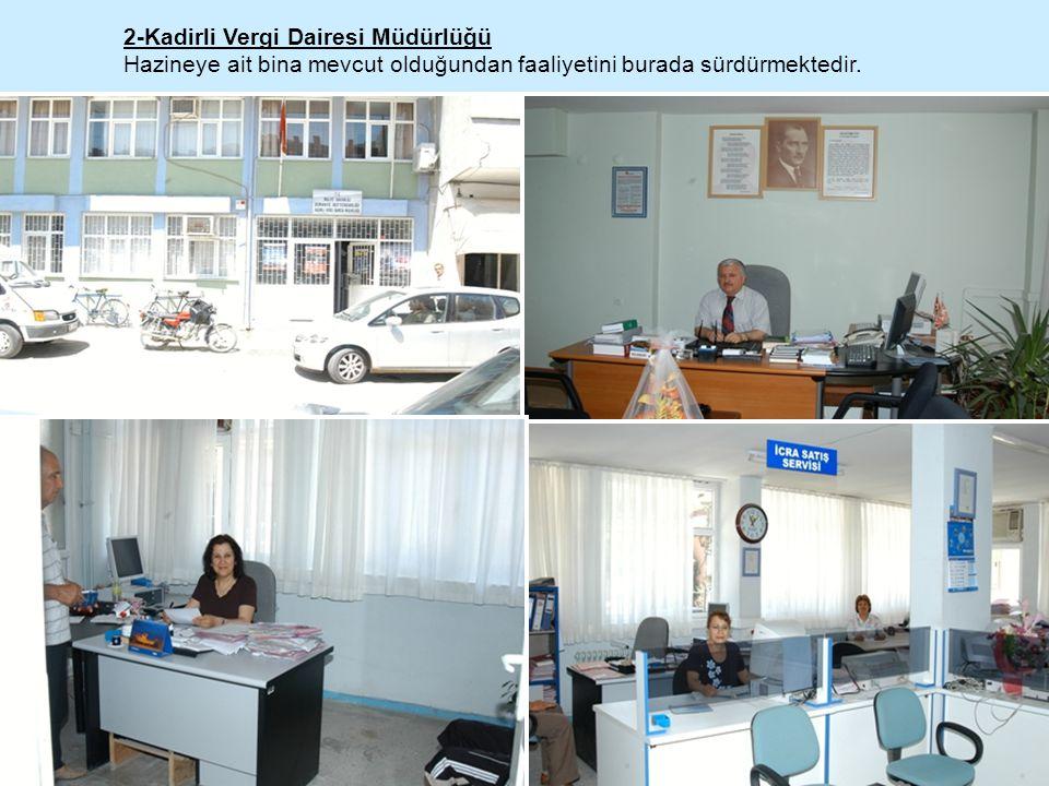 2-Kadirli Vergi Dairesi Müdürlüğü