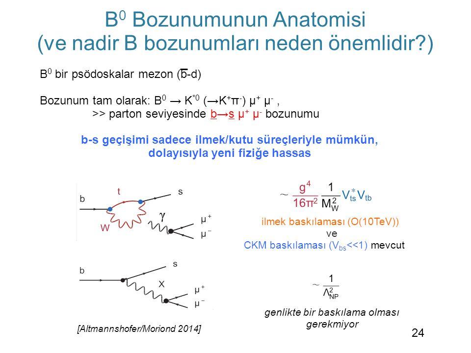B0 Bozunumunun Anatomisi (ve nadir B bozunumları neden önemlidir )