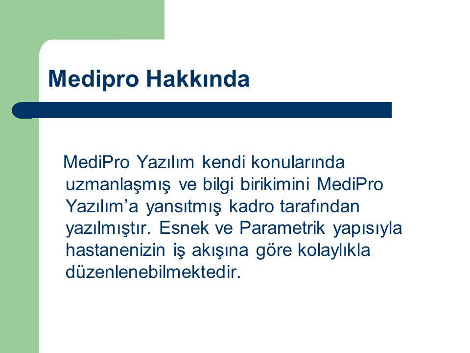 Medipro Hakkında