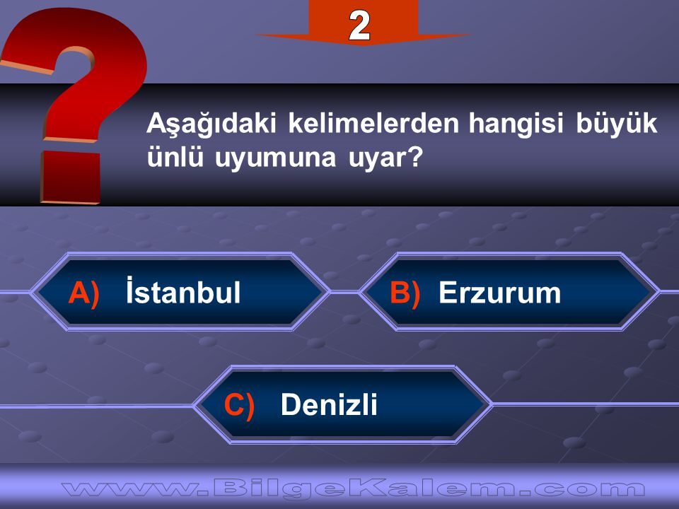 2 www.BilgeKalem.com A) İstanbul
