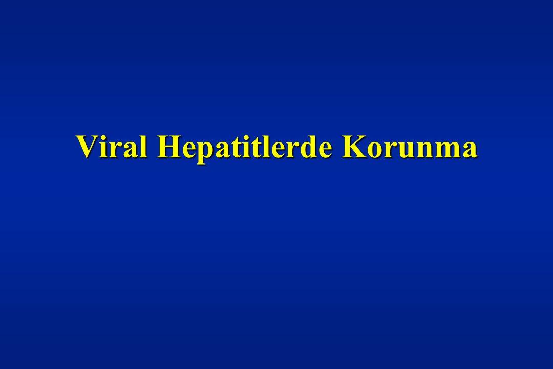 Viral Hepatitlerde Korunma
