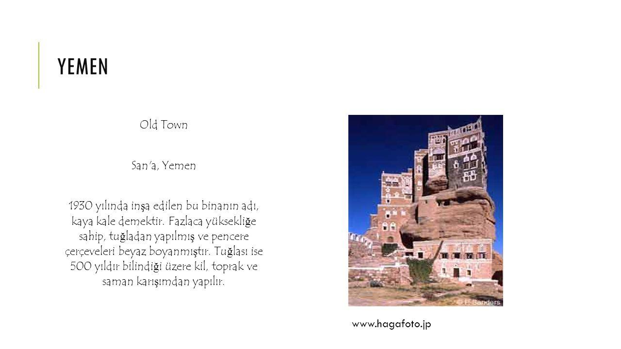 yemen Old Town San a, Yemen
