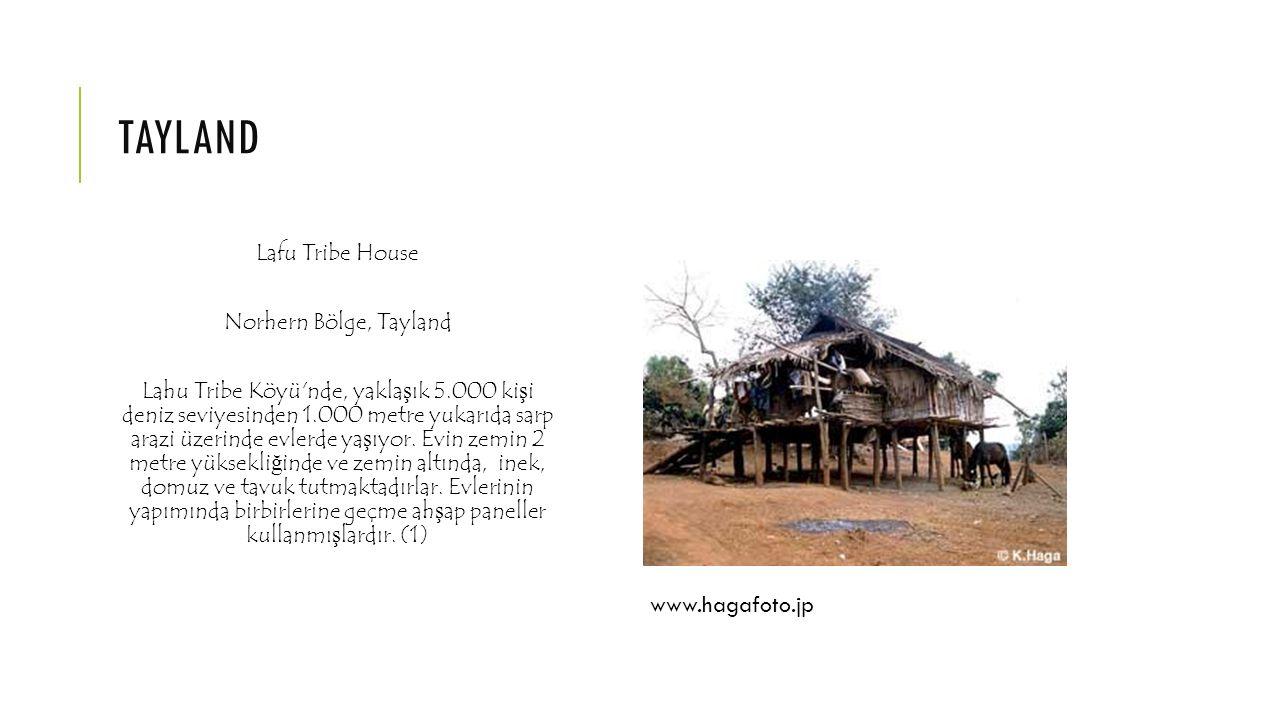 tayland www.hagafoto.jp Lafu Tribe House Norhern Bölge, Tayland
