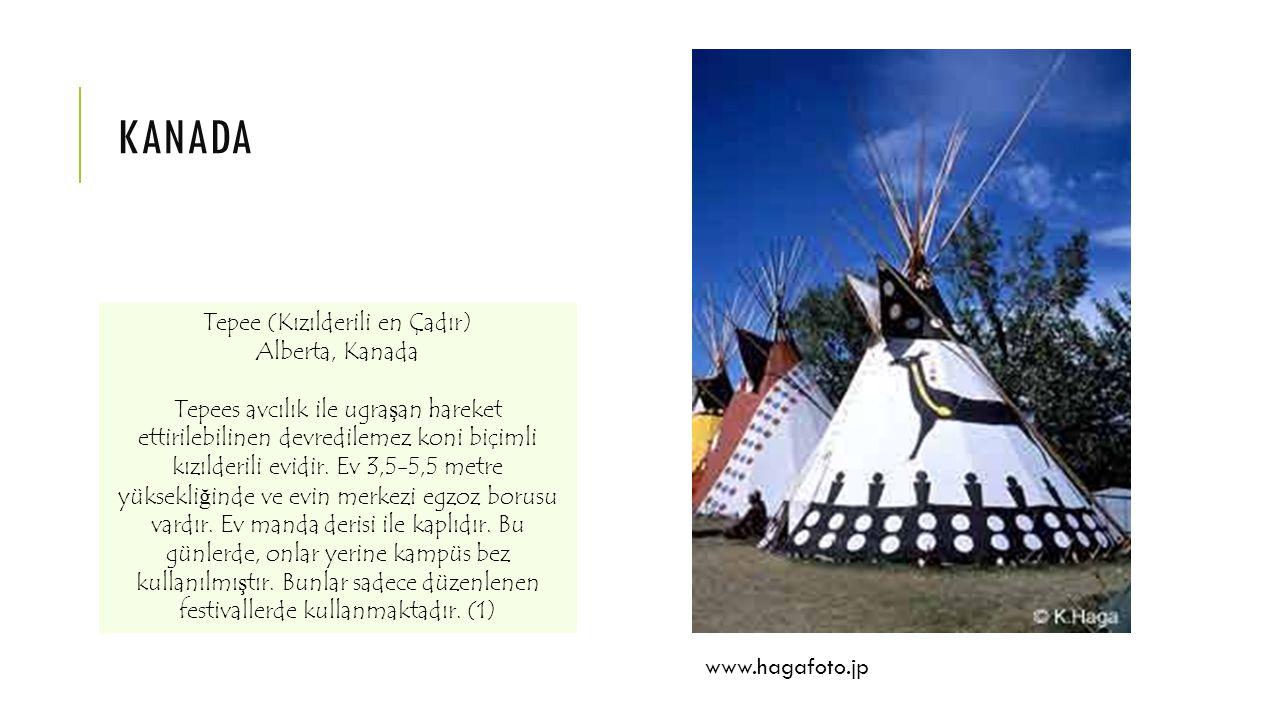 Tepee (Kızılderili en Çadır)