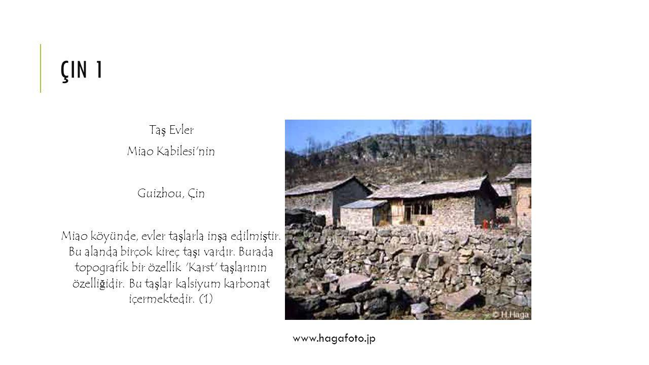 çin 1 Taş Evler Miao Kabilesi nin Guizhou, Çin