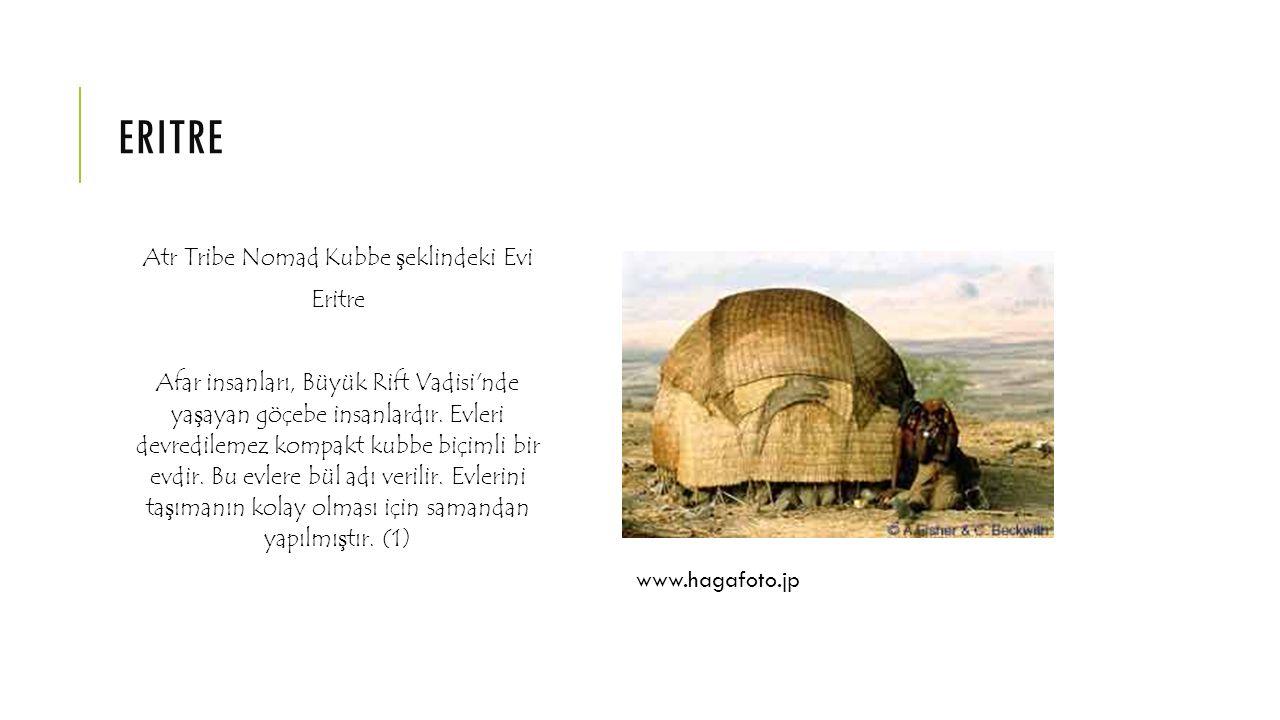 Atr Tribe Nomad Kubbe şeklindeki Evi