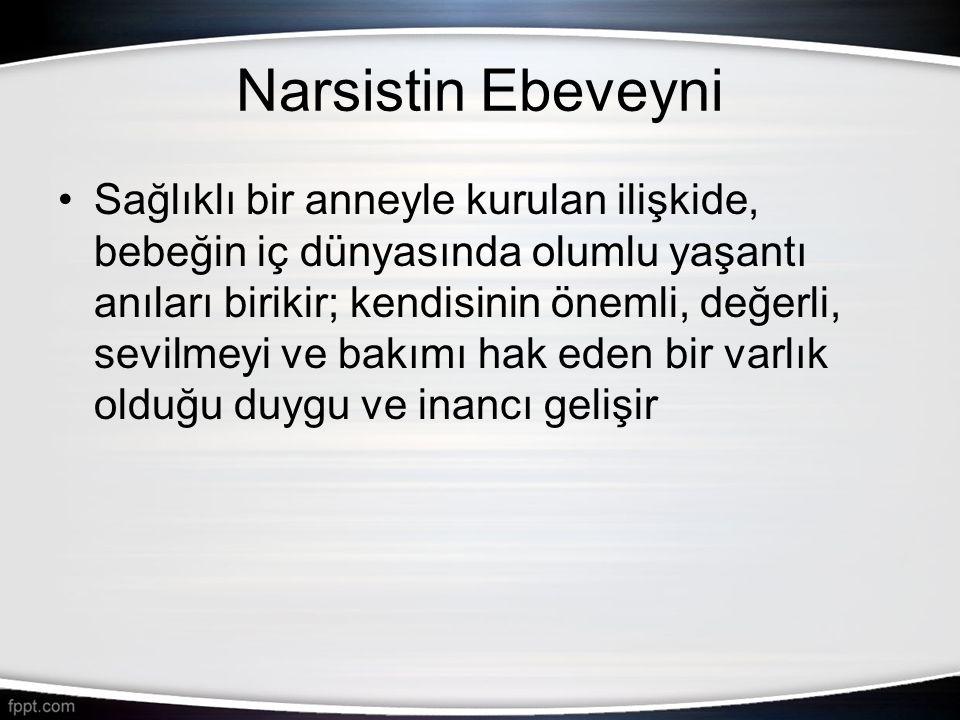 Narsistin Ebeveyni