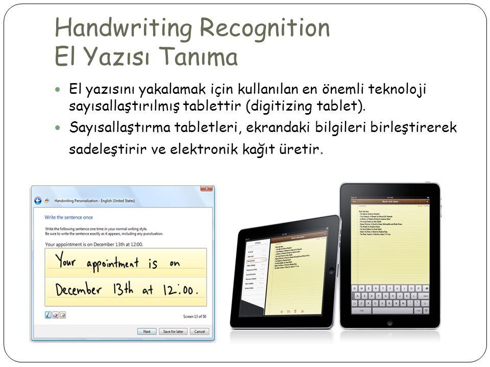 Handwriting Recognition El Yazısı Tanıma