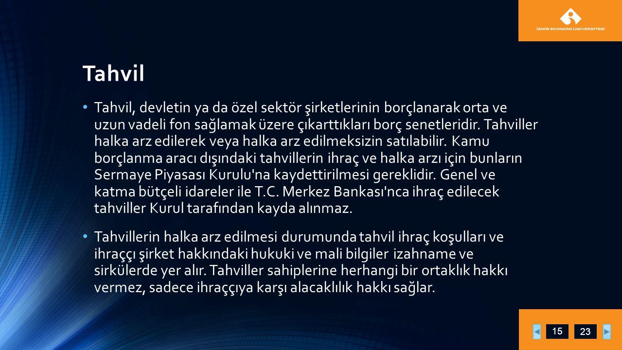 Tahvil