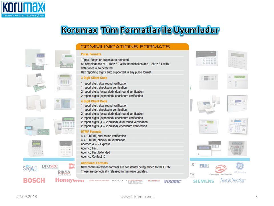 Korumax Tüm Formatlar ile Uyumludur