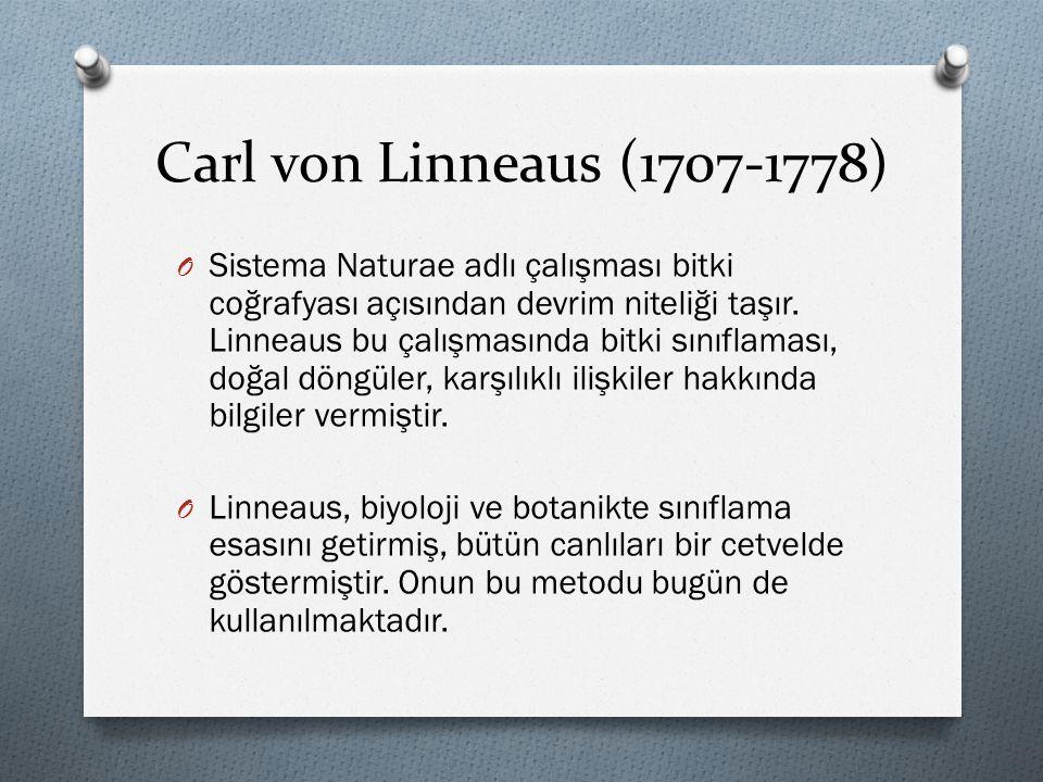 Carl von Linneaus (1707-1778)