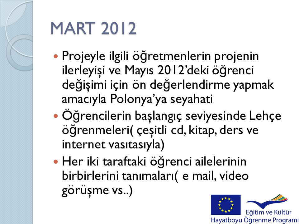 MART 2012