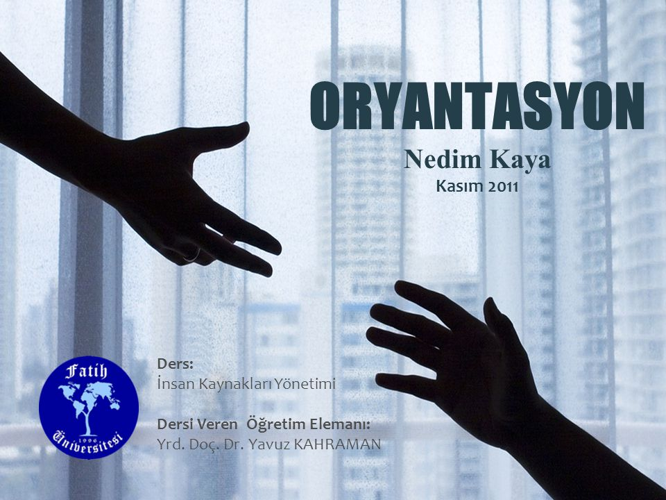 ORYANTASYON Nedim Kaya Kasım 2011