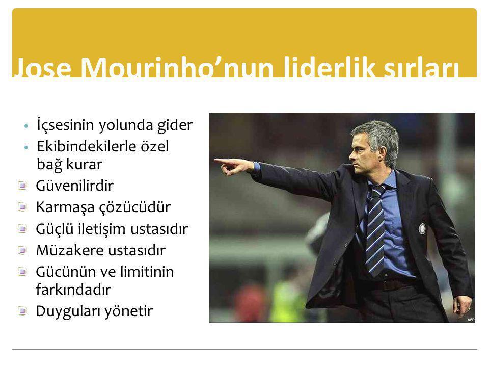 Jose Mourinho'nun liderlik sırları