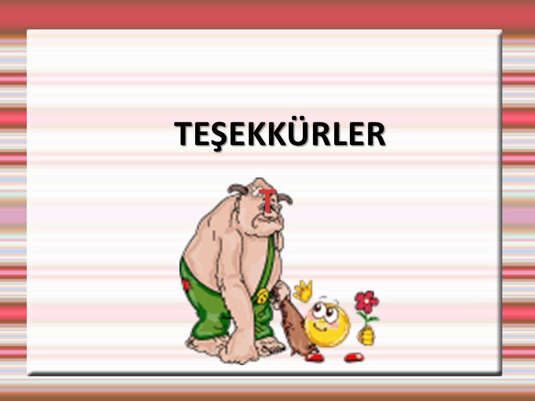 TEŞEKKÜRLER T