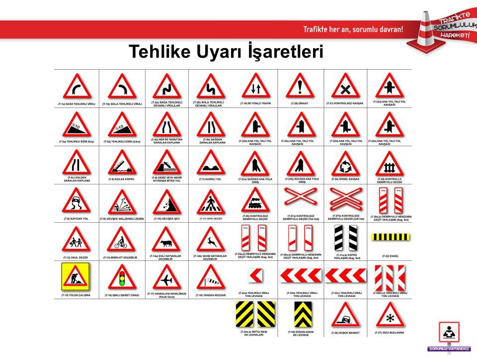 Tehlike Uyarı İşaretleri