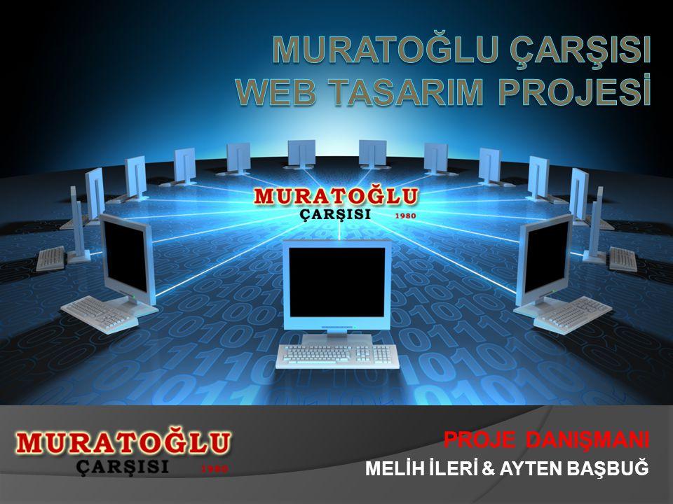 MURATOĞLU ÇARŞISI WEB TASARIM PROJESİ