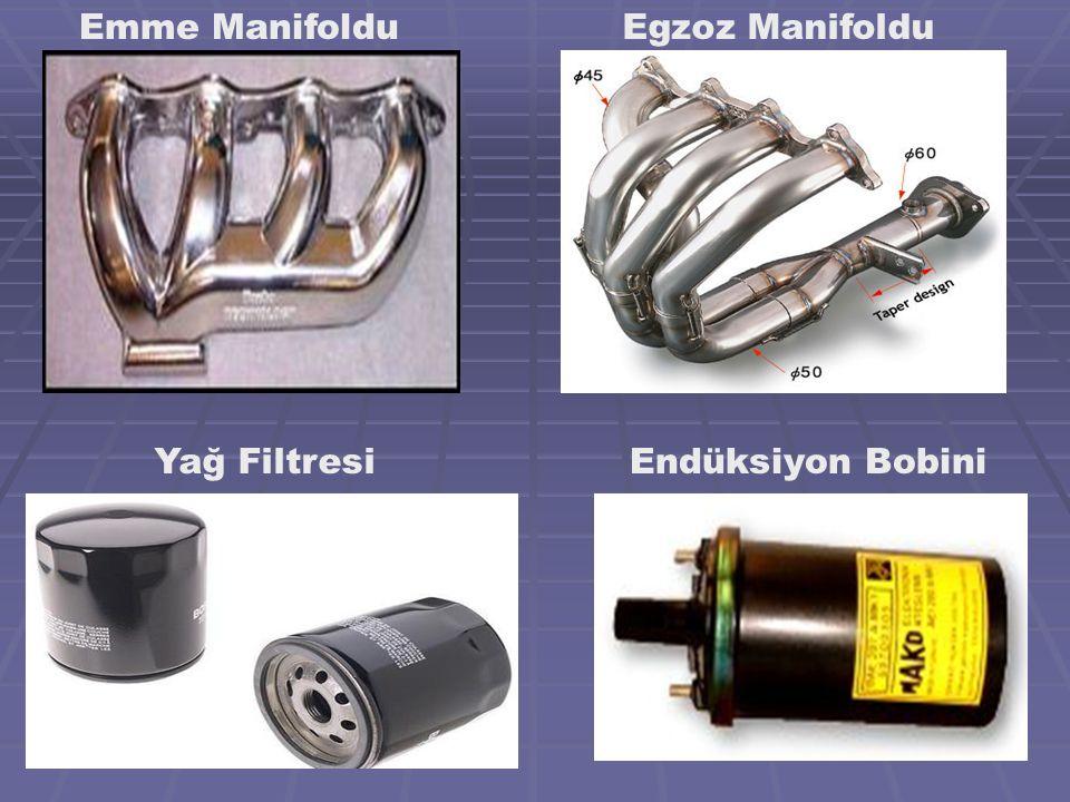 Emme Manifoldu Egzoz Manifoldu Yağ Filtresi Endüksiyon Bobini