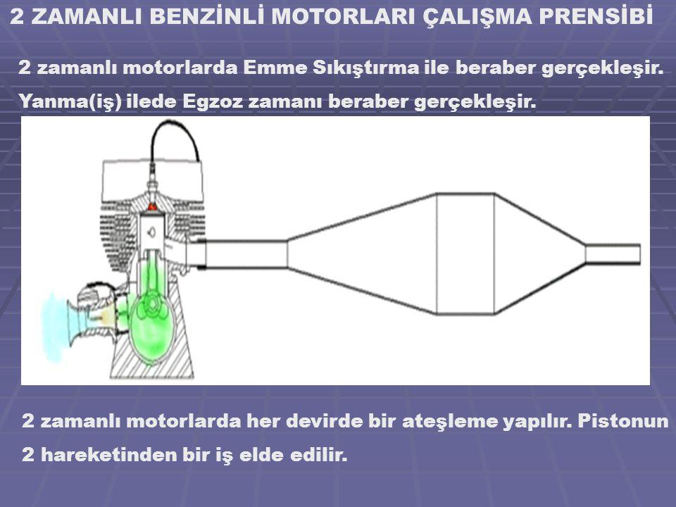 2 ZAMANLI BENZİNLİ MOTORLARI ÇALIŞMA PRENSİBİ