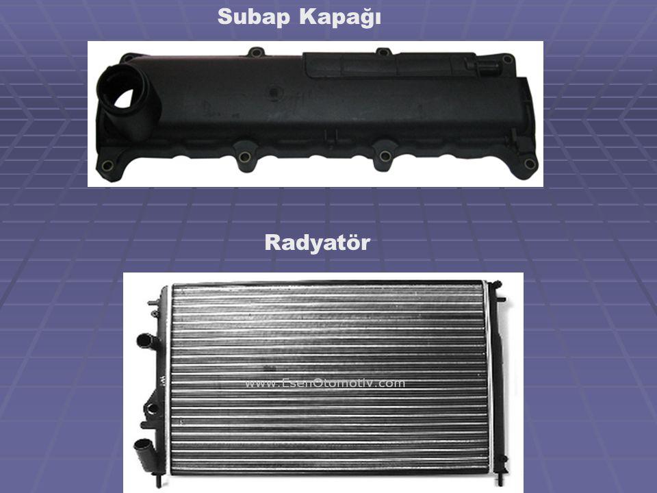 Subap Kapağı Radyatör