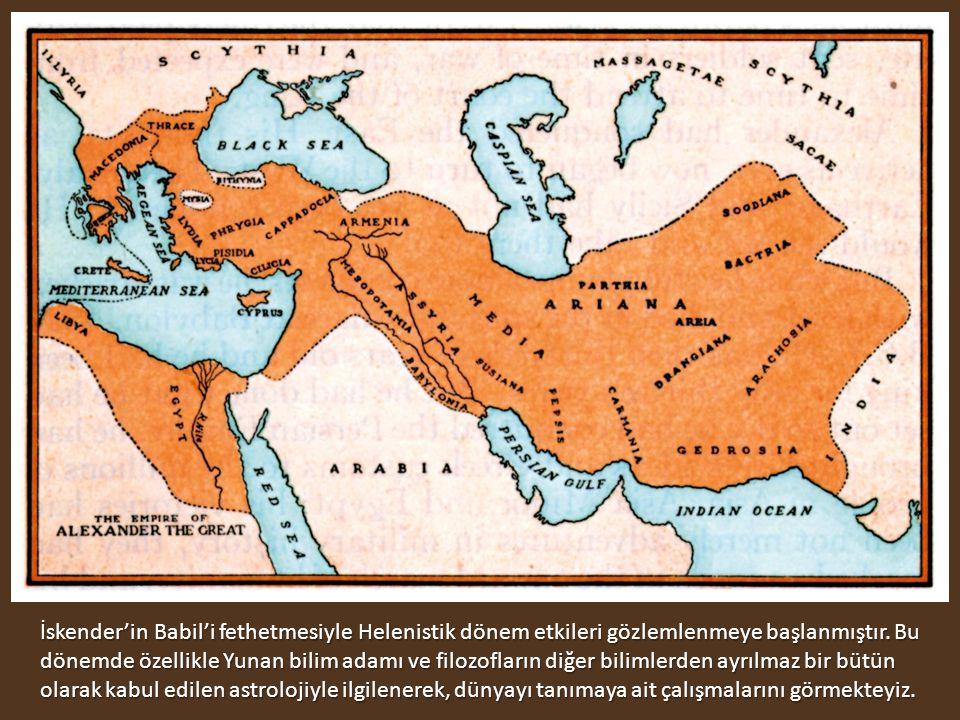 İskender'in Babil'i fethetmesiyle Helenistik dönem etkileri gözlemlenmeye başlanmıştır.