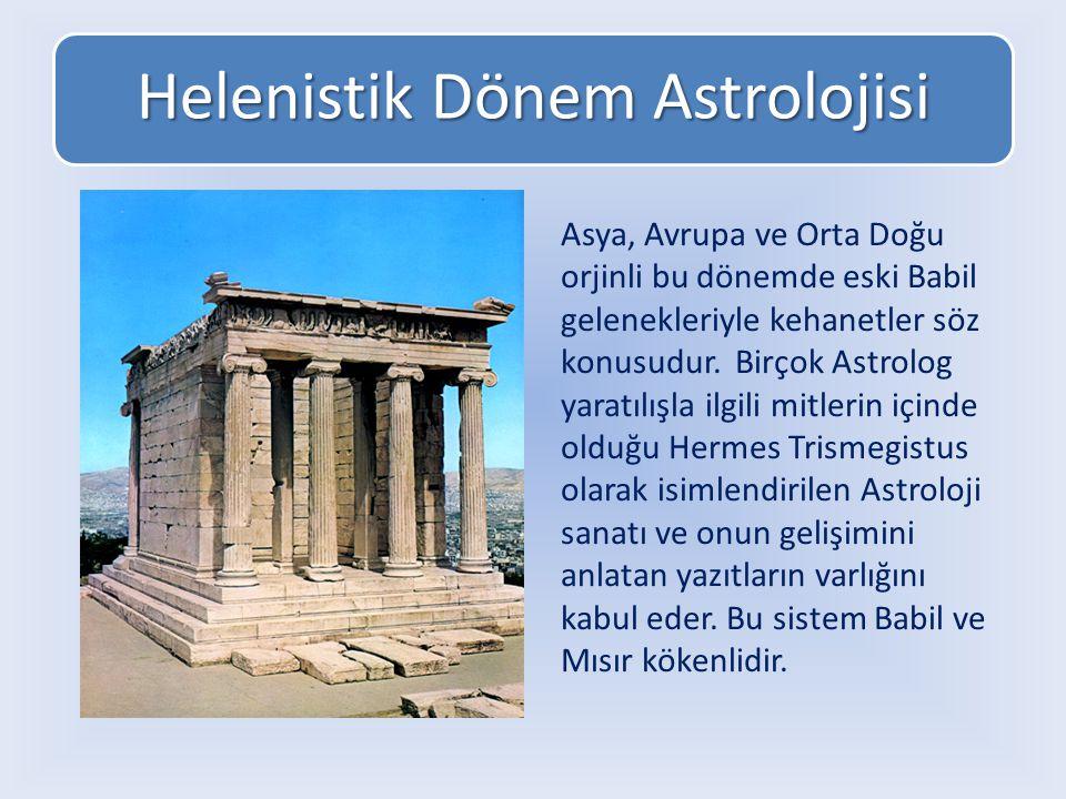 Helenistik Dönem Astrolojisi