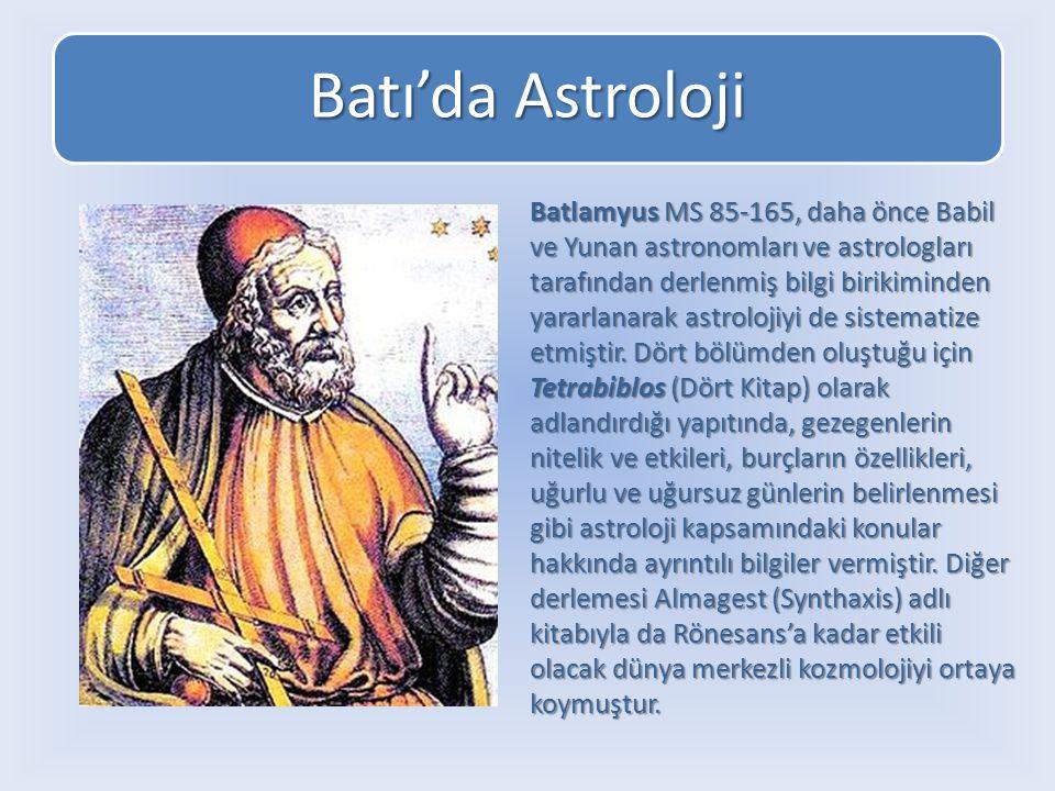 Batı'da Astroloji