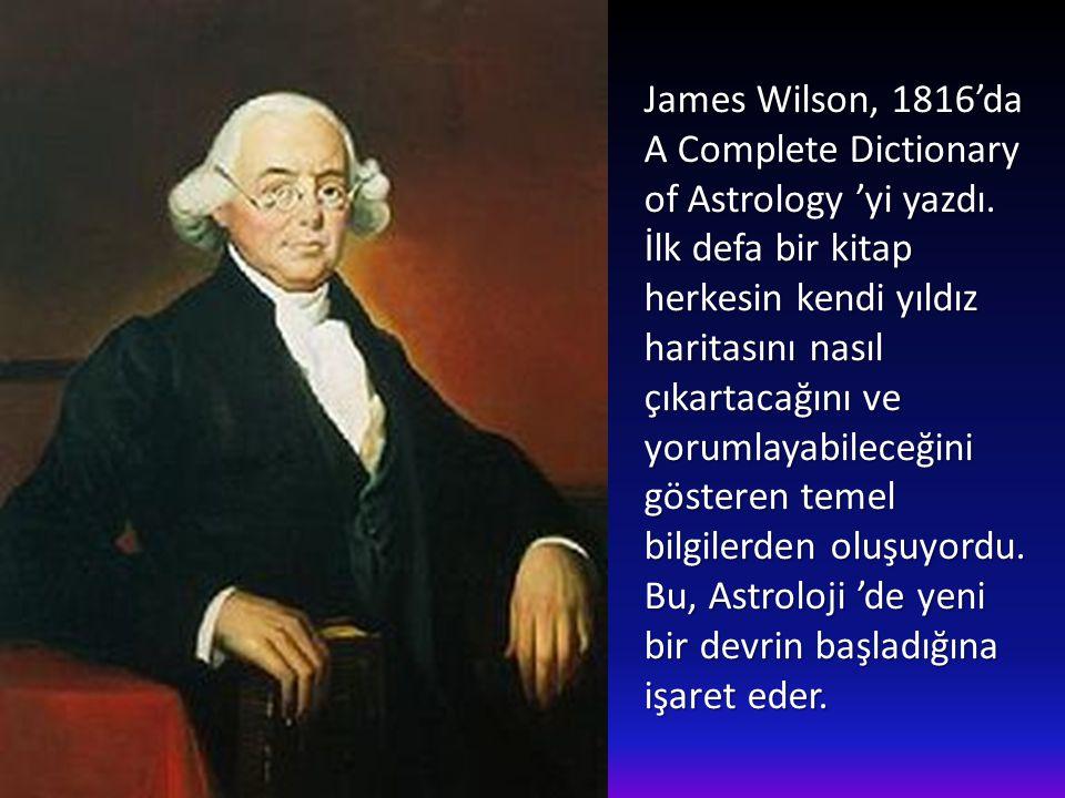 James Wilson, 1816'da
