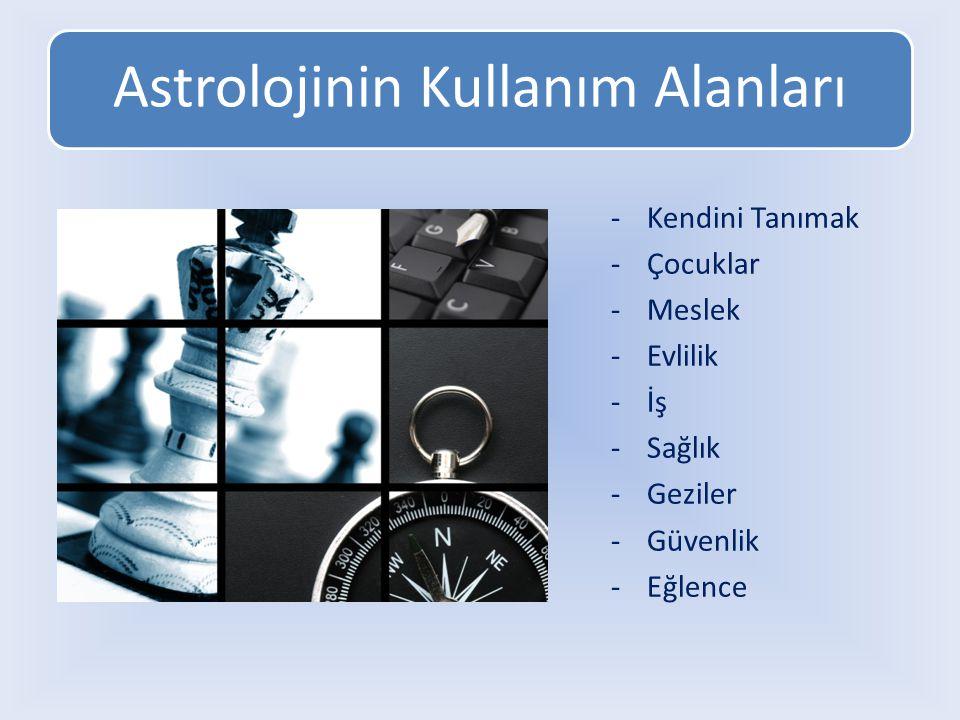 Astrolojinin Kullanım Alanları