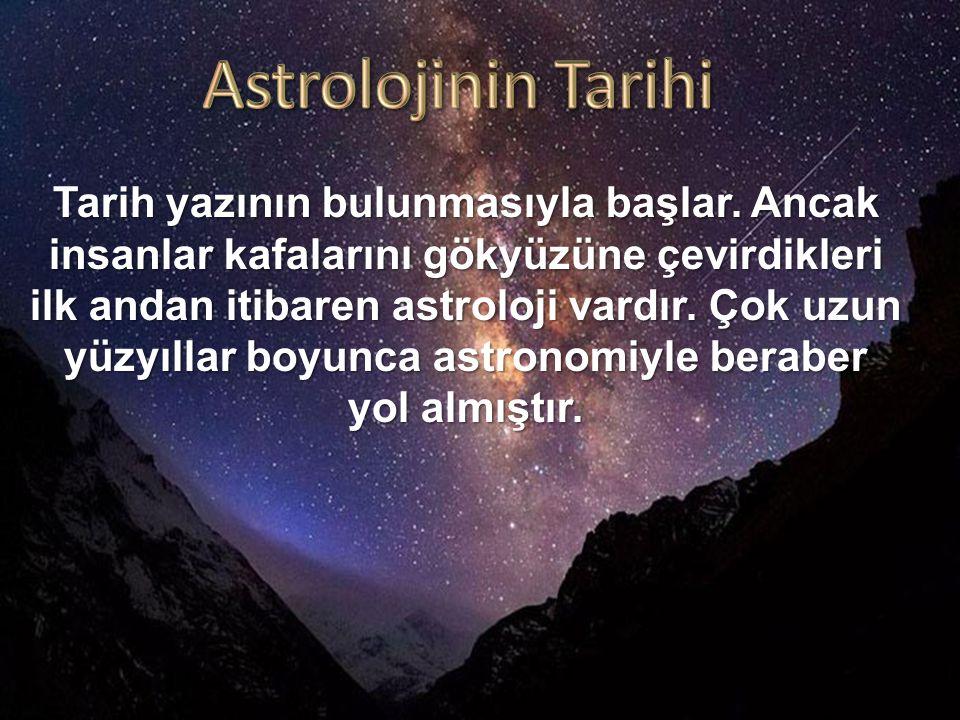 Astrolojinin Tarihi
