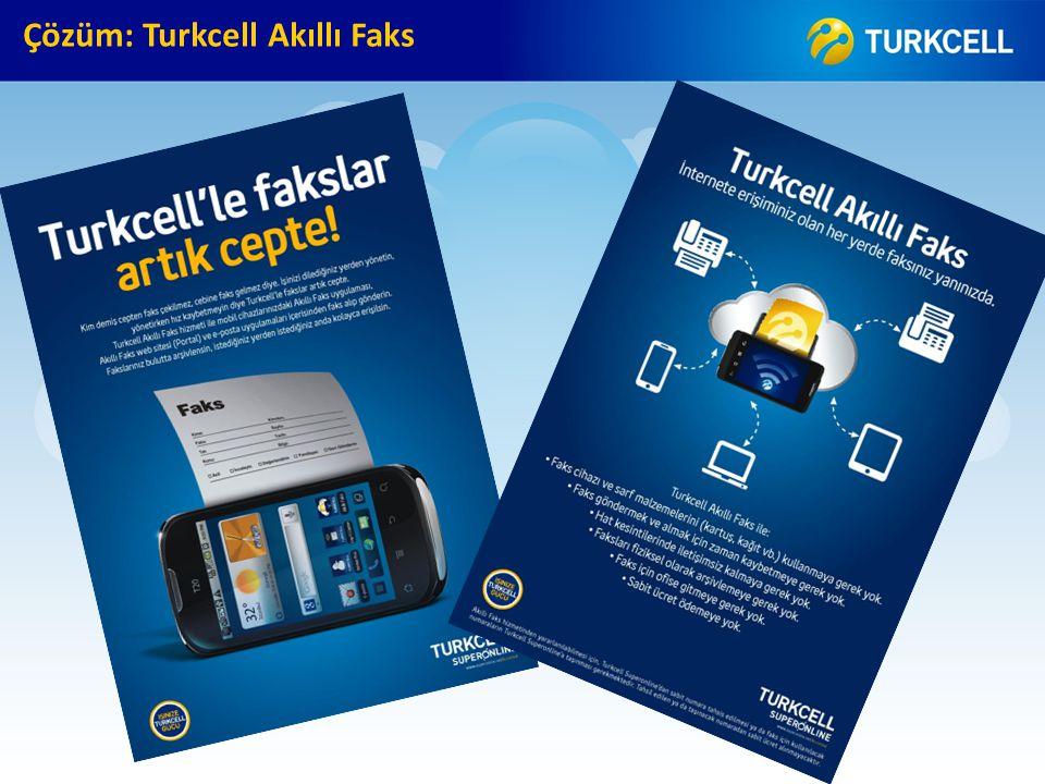 Çözüm: Turkcell Akıllı Faks