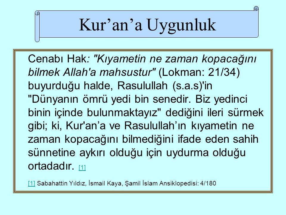 Kur'an'a Uygunluk