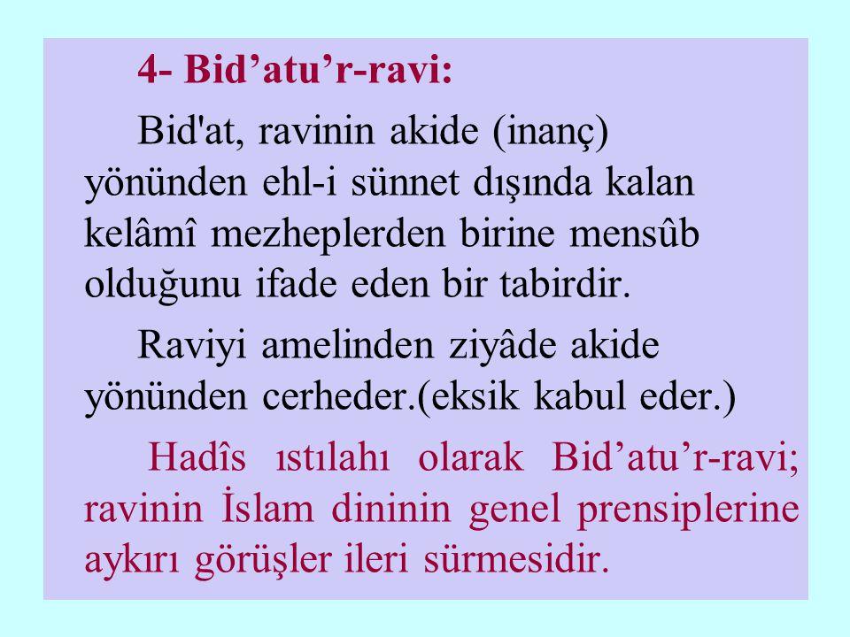 4- Bid'atu'r-ravi: