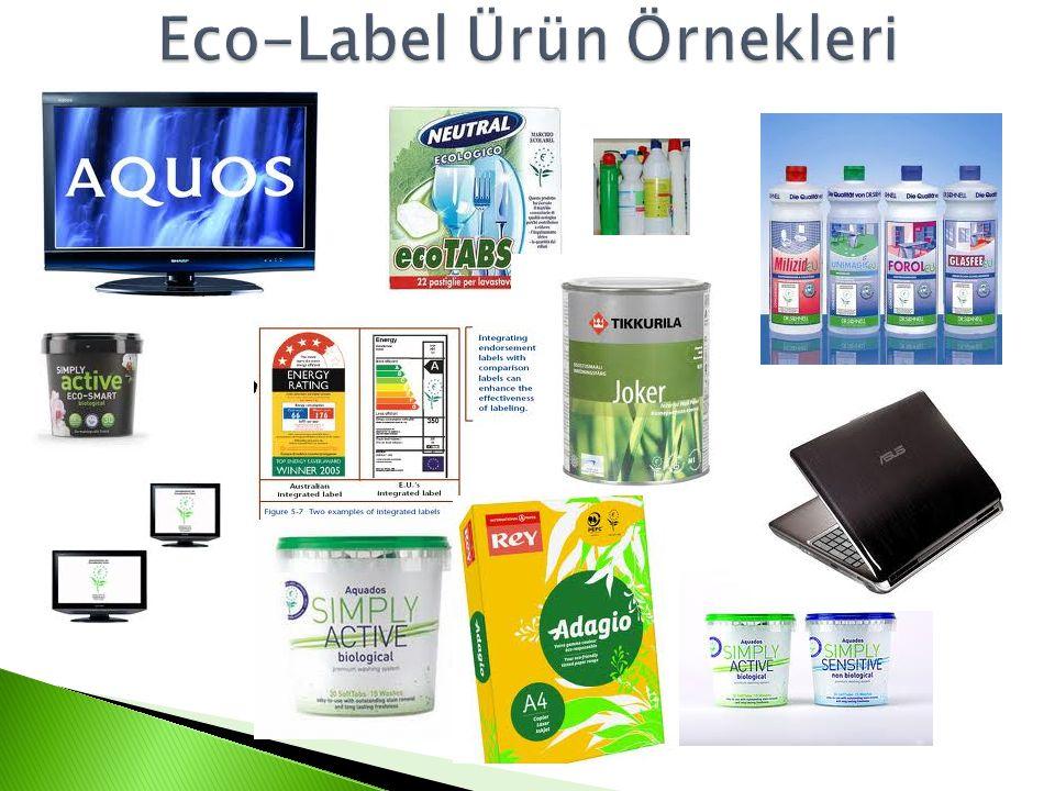 Eco-Label Ürün Örnekleri