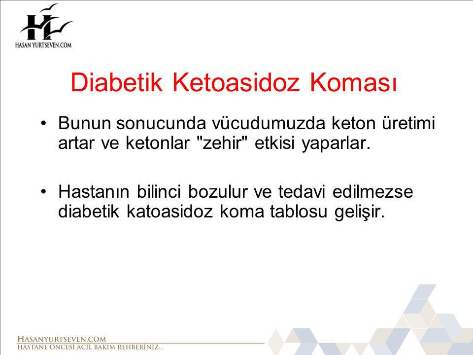Diabetik Ketoasidoz Koması