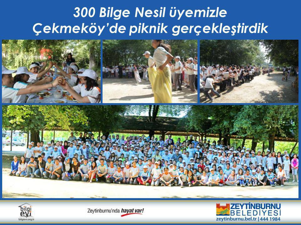 Çekmeköy'de piknik gerçekleştirdik