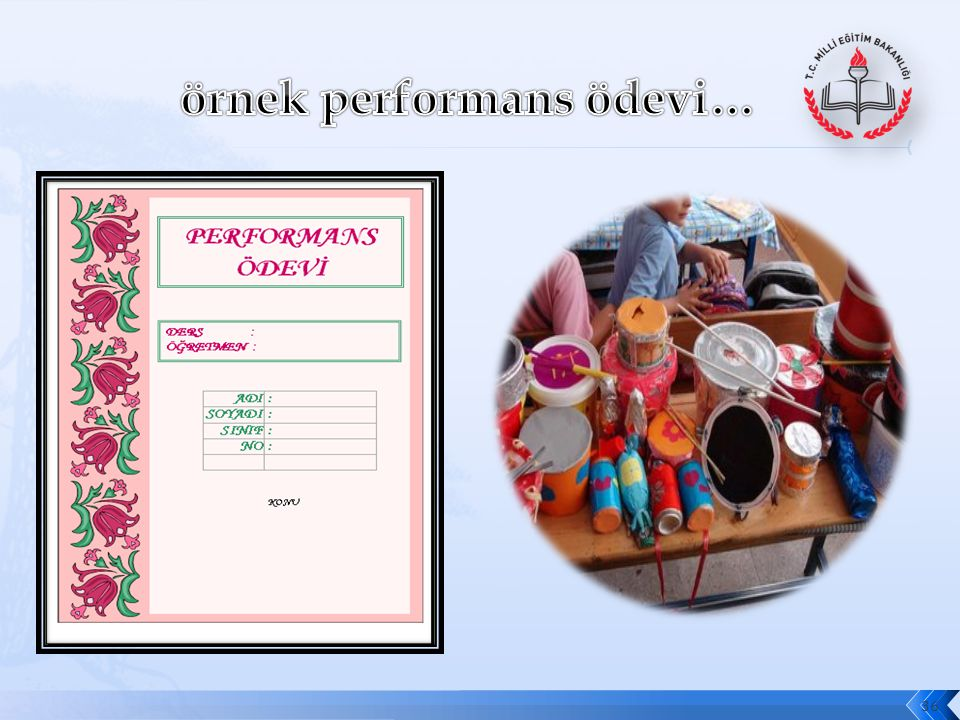örnek performans ödevi…