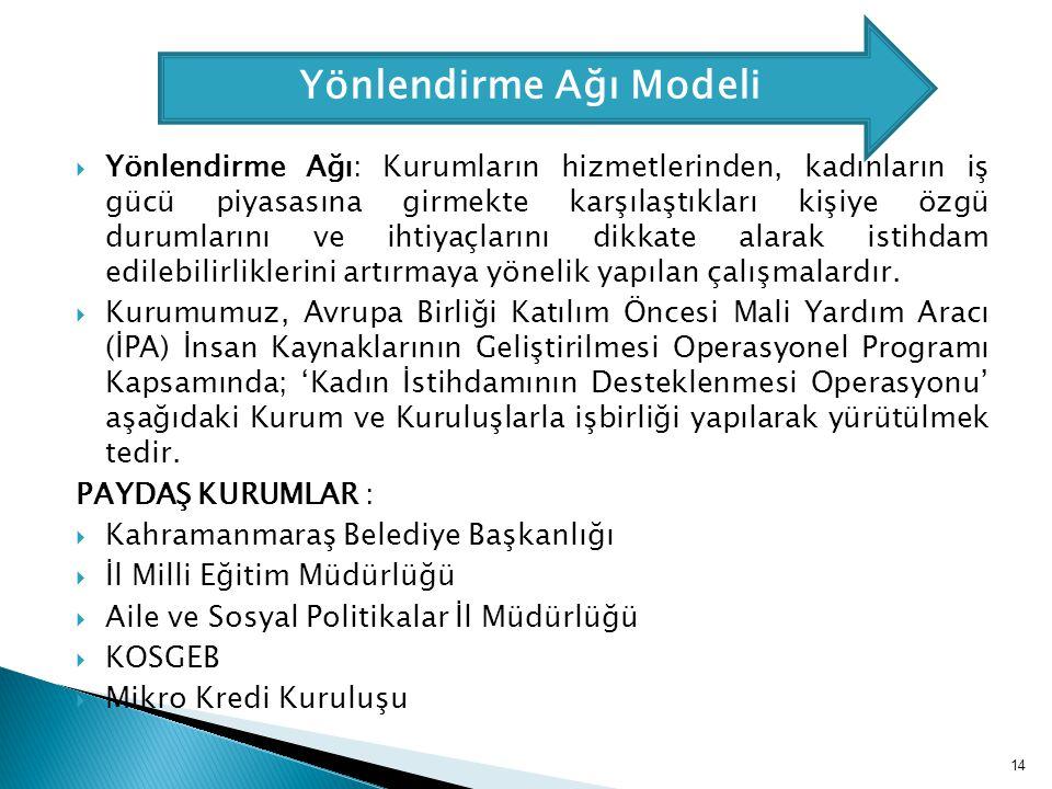 Yönlendirme Ağı Modeli