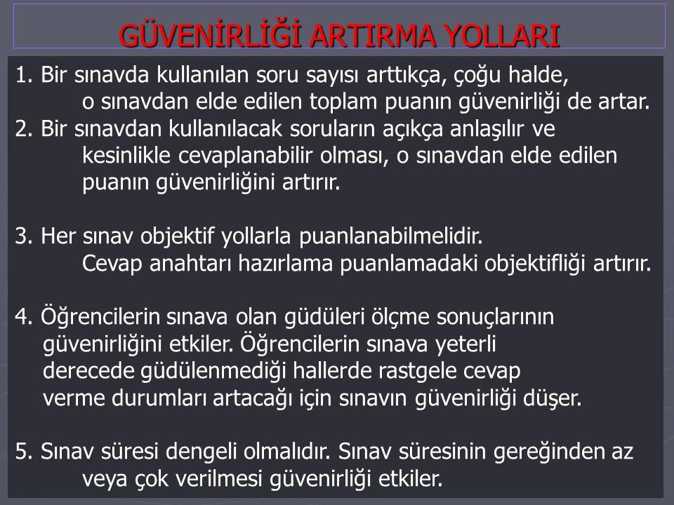 GÜVENİRLİĞİ ARTIRMA YOLLARI