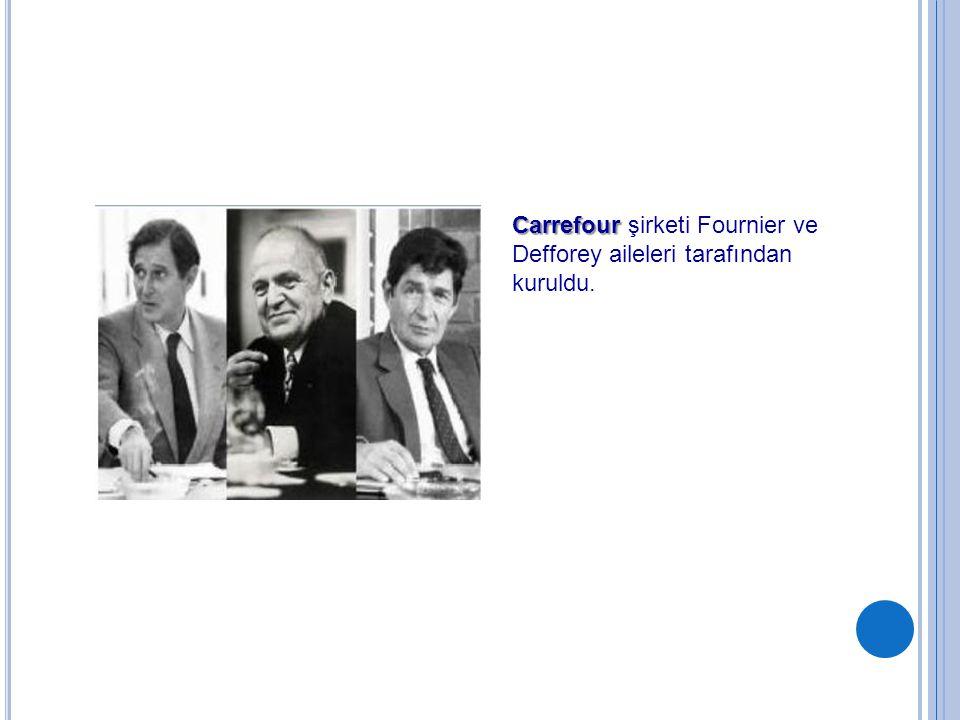 Carrefour şirketi Fournier ve Defforey aileleri tarafından kuruldu.