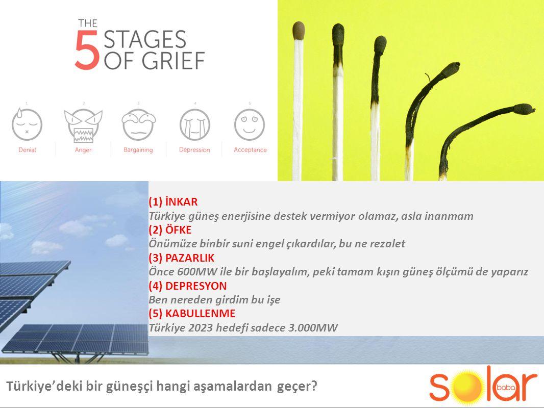 Türkiye'deki bir güneşçi hangi aşamalardan geçer