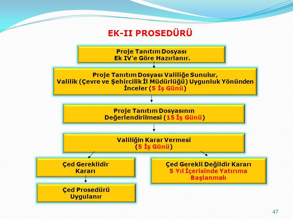 EK-II PROSEDÜRÜ Proje Tanıtım Dosyası Ek IV'e Göre Hazırlanır.